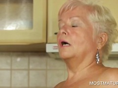 Masturbation, Amateur, Milf, Hardcore, Granny, Mature, Older, Blonde