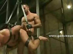 Homosex, Bizar Sex, Uniform, Læder, Bdsm, Fetish, Flotte Mænd, Bondage
