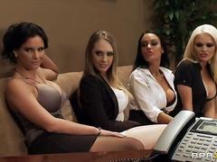 واقعى, في المكتب, سيدات رائعات, نجوم الجنس, مجموعات