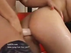 Adult-Toys, Busty, Big-Boobs, Girl-On-Girl, Lesbian, Huge-Tits, Tit-Fuck, Dildo