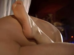 Handjob, Vagina, Bathroom, Couple, Tattoo, Ass-Licking, Masturbation, Cum-Shot