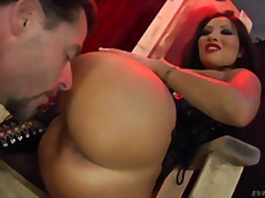 Femdom, Pussy-Eating, Ass, Oral, Asian, Pornstar, Brunette, Hd