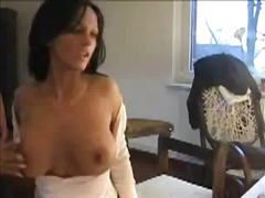 Skinny, Pussy-Eating, Shaved, Pussy-Rubbing, Strip, Masturbation, Homemade, Solo