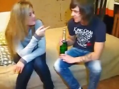 Couple, Young, Blowjob, White, College, Double-Penetration, Teen, Shaved