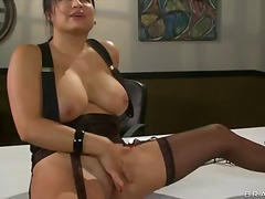 Milf, Tits, Nice, Monster, Sophia, Office, Stockings, Brazzers