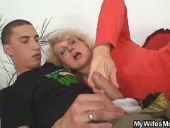 Granny, Grandma, Daughter, Scandal, Hardcore, Cheating, Blowjob, Handjob