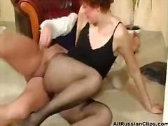 Krievi, Smagais Porno, Ar Zeķubiksēm, Maksts, Orālā Seksa