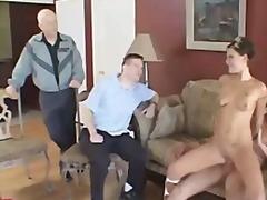 Threesome, Husband, Pornstar, Doggys, Doggystyle, Hardcore, Couple, Wife