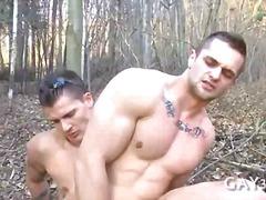 Outdoors, Anal, Gay, Fucking, Ass