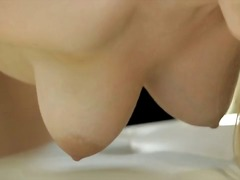 Solo, Shaved, Thong, Masturbation, Pornstar, Blonde