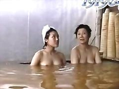 يابانيات, حمام, تجسس, استراق النظر