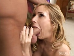 Deepthroat, Shot, Couple, Cum, Cumshot, Hillary Scott, Gagging, Swallow