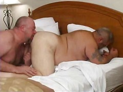 Fat, Rimjob, Dp, Fucking, Gay, Bear, Ass, Gape
