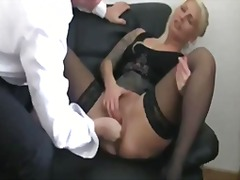Cfnm, Fantasy, Foot Fetish, Massage, Oil, Pussy, Uniform, Bbw