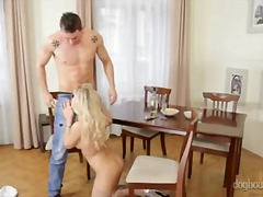 Cock, Monstercock, Big Ass, Masturbation, Blonde, Stroking, Jerking, Handjob