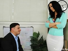 Office, Busty, Jaymes, Jayden, Boss, Naughty, Secretary, Hardcore