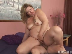 Mom, Fucking, Hardcore, Old, Fat, Vaginal, Mature, Hungry