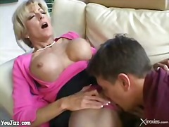 Teacher, Mom, Fucking, Boy, Mature, Blonde