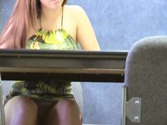 Spy, Nude, Hidden, Office, Upskirts, Blonde, Candid
