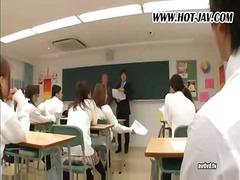 يابانيات, إمناء على الوجه, القذف, مجموعات, بنات مدارس