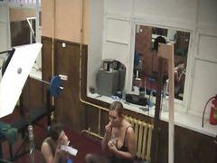 جاسوسی, دوربین مخفی, دختر, فضول, سالن ورزش, جوراب شلواری