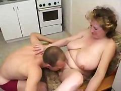 أمهات, ولد, في المطبخ, خبيرات, أول مرة