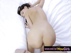 Orgasm, Doggystyle, Ass, Young, Anal, Cum, Brunette, Asshole