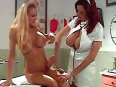 ملابس جلدية لامعة, رسمى, فتشية, نهود كبيرة, ممرضات