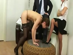 Spanking, Humiliation, Discipline, Punishment, Fetish, Secretary, Toy, Kinky