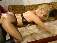 Stocking, Latex, Stockings, German, Hardcore, Anal