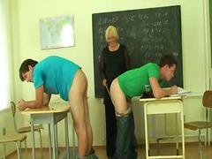 ولد, أمهات, المعلم, رجلان وامرأة