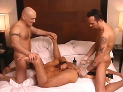 Threesome, Anal, Oral, Tattoo, Dildo