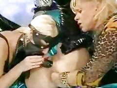 Fisting, Mask, German, Clothed, Strapon, Leather, Boots, Fetish