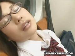Asiáticas, Dormir, Voyeurs, Público