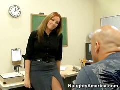 Pornstar, Milf, Morgan Reigns, Star, Hardcore, Office, Uniform, Model