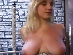 Spanking, Blonde, Big, Boobs, Big Boobs, Hardcore, Tits, Bondage