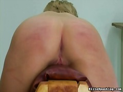Caning, Blonde, Punishment, Flogging, Spanking