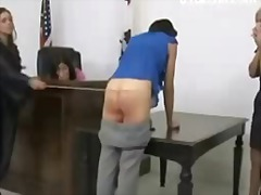Spanking, Jail, Lezdom, Tall