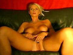 Mature, Masturbation, Webcam, Blonde, Lady, Babe