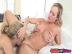 Group, Penetration, Fucking, Blonde, Milf, Threesome, Fellation, Mom