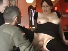 Fisting, Whore, Amateur, Public, Gaping, Kinky, Restaurant, Threesome