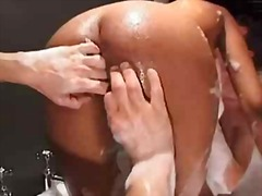 Penetration, 3Some, Boobs, Hardcore, British, Tits, Double, Anal