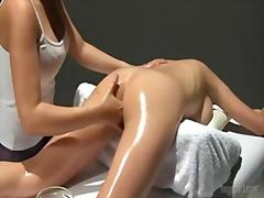 Massage, Tits, Busty, Shaved, Big Boobs