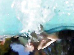 حمام السباحة, من الخلف, بزاز, سحاقيات, السمراوات