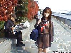 فردى, يابانيات, السمراوات, في العلن, خارج المنزل, آسيوى