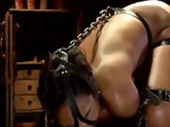 Domination, Vibrator, Chained, Bondage, Toys, Ass, Spanking, Torment