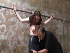 Punishment, Dungeon, Tied, Sascha, Torture, Spanking, Dirty, Breasts