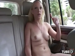 Strip, Masturbation, Flashing, Shaved, Fingering, Blonde, Tease