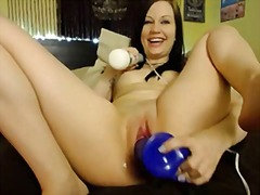 Webcam, Pornstar, Penetration, Squirt, Double, Close-Up, Squirting