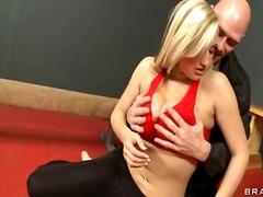 Breasts, Blonde, Big, Fucking, Gym